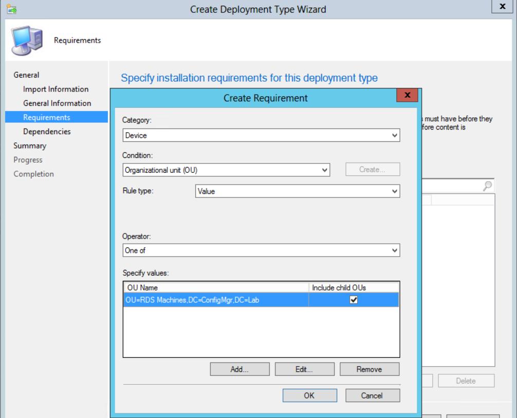 create deployment type 3